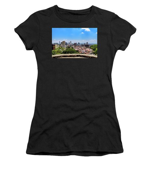 Cali Skyline Women's T-Shirt (Athletic Fit)