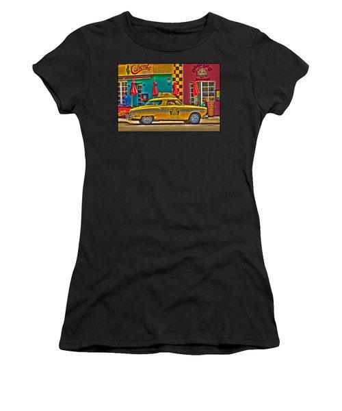Caliente Cab Co Women's T-Shirt (Athletic Fit)