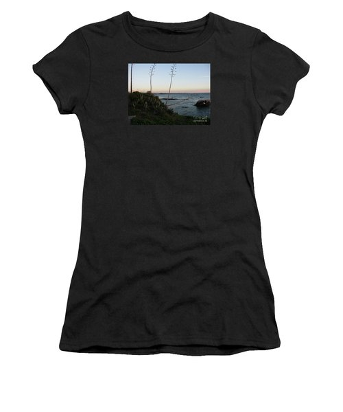 California At Twilight Women's T-Shirt (Junior Cut) by Mini Arora