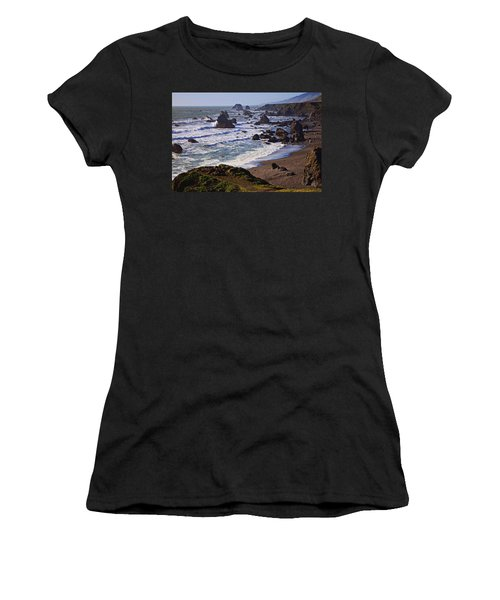 California Coast Sonoma Women's T-Shirt (Athletic Fit)