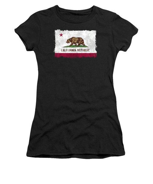 California Flag Women's T-Shirt (Athletic Fit)