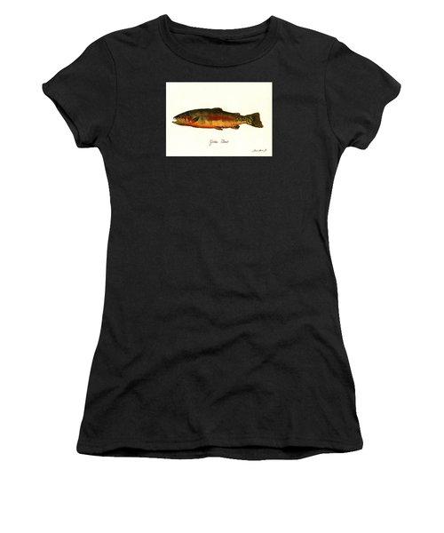 California Golden Trout Fish Women's T-Shirt