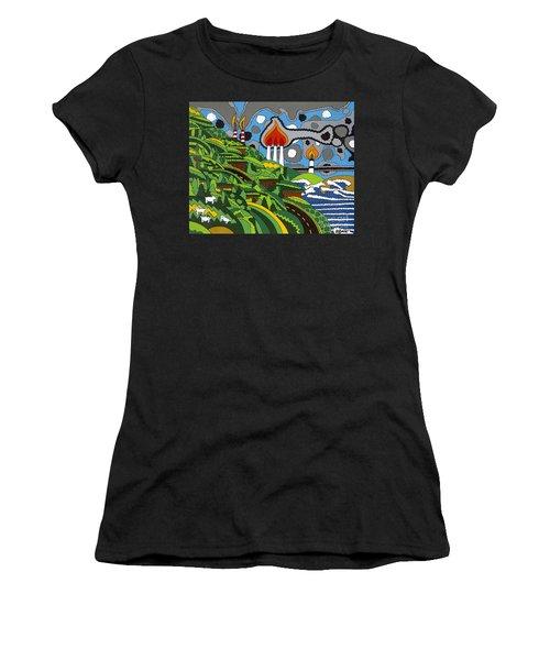 California Highway 1 Women's T-Shirt