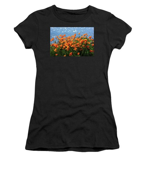 California Poppies By Richardson Bay Women's T-Shirt