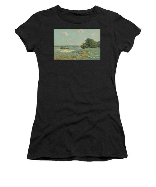 California Poppy Field Women's T-Shirt