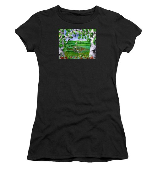Call Of The Homeland Women's T-Shirt (Athletic Fit)