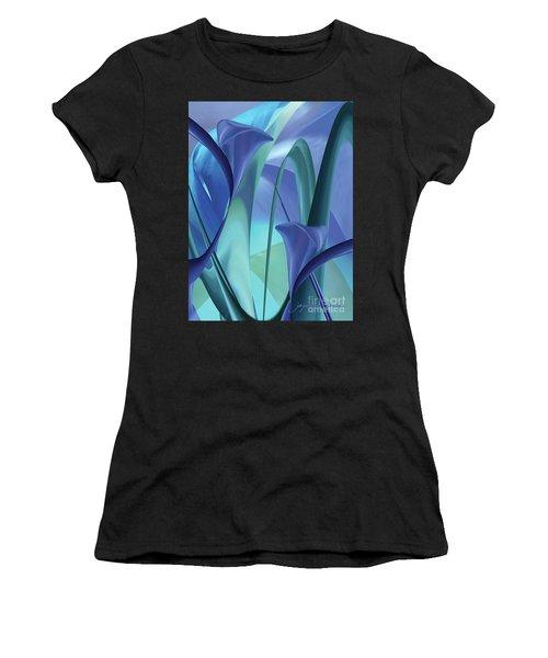 Calla Lilies Women's T-Shirt (Athletic Fit)