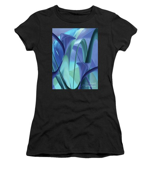 Calla Lilies Women's T-Shirt (Athletic Fit)