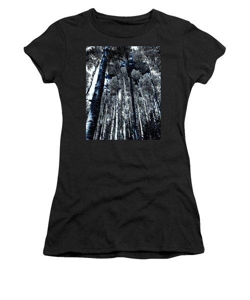Calm Amongst The Aspens Women's T-Shirt