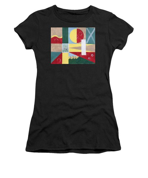 Calm And Chaos Women's T-Shirt (Athletic Fit)