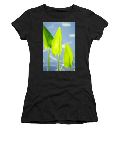Calm Greens Women's T-Shirt