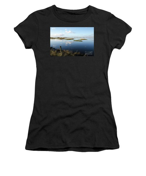 Calm Wetland Women's T-Shirt (Junior Cut) by Kennerth and Birgitta Kullman