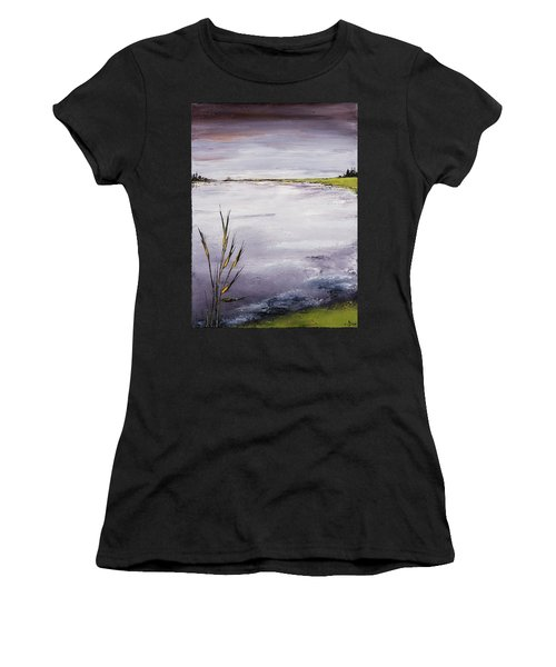 Calmer Water Women's T-Shirt