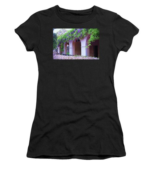 Caltech Wisteria Women's T-Shirt (Junior Cut) by Ram Vasudev