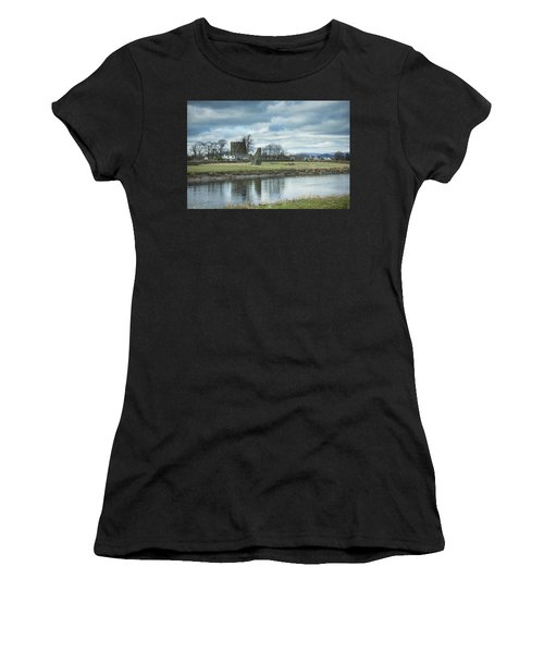 Cambuskenneth Abbey And The River Forth Women's T-Shirt
