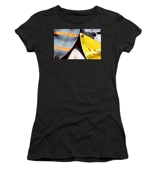 Camden Dories Photo Women's T-Shirt (Junior Cut) by Peter J Sucy