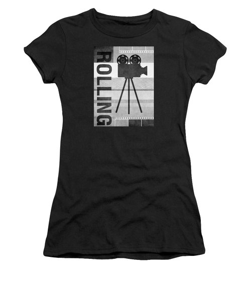 Cameras Rolling- Art By Linda Woods Women's T-Shirt