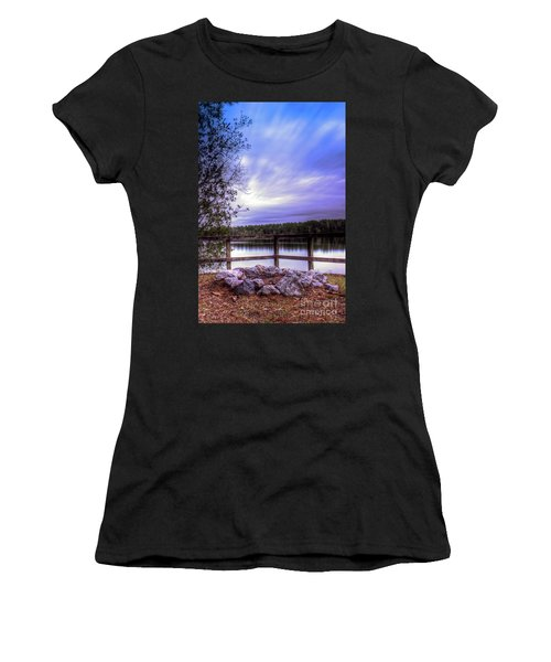 Camp Ground Women's T-Shirt (Junior Cut) by Maddalena McDonald
