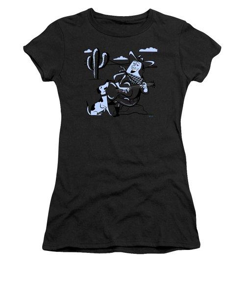 Campfire Cowboy Song Women's T-Shirt