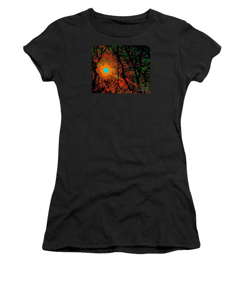 Campfire Sparks Women's T-Shirt (Athletic Fit)