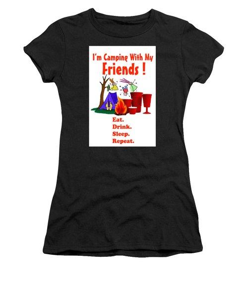 Camping T Shirt Women's T-Shirt
