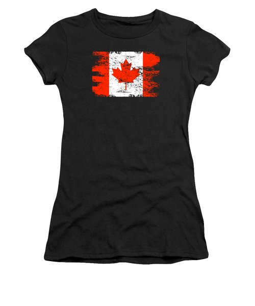Canada Flag Gift Country Patriotic Travel Shirt Americas Light Women's T-Shirt