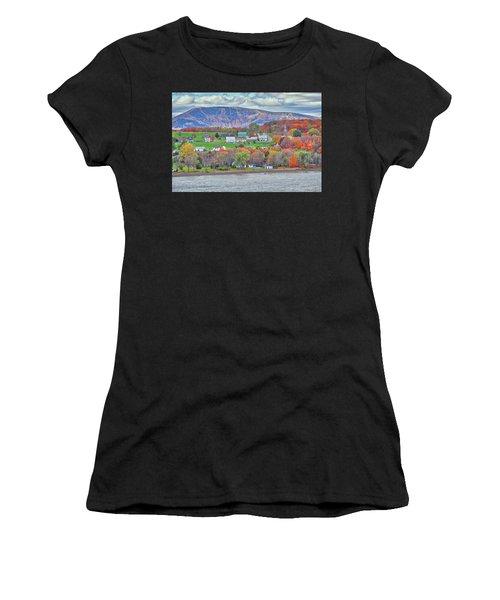 Canadian Fall Foliage Women's T-Shirt