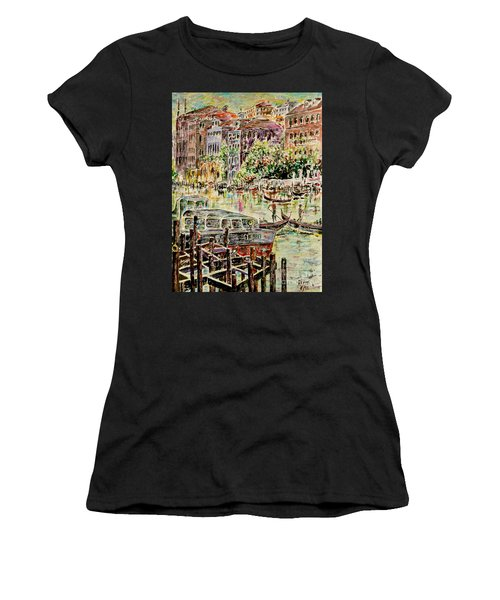 Canale Grande Women's T-Shirt (Athletic Fit)