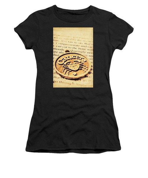 Cancer Star Sign Art Women's T-Shirt