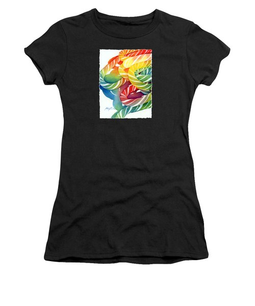 Candy Canes Women's T-Shirt (Athletic Fit)