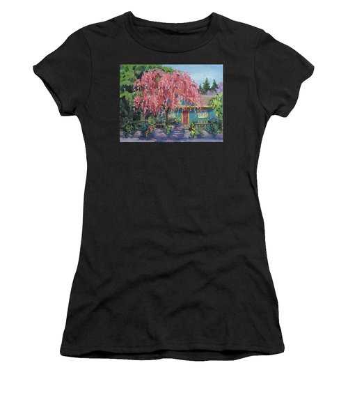 Candy Tree Women's T-Shirt (Athletic Fit)