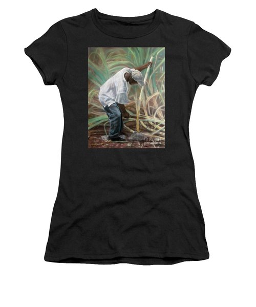 Cane Field Women's T-Shirt (Athletic Fit)