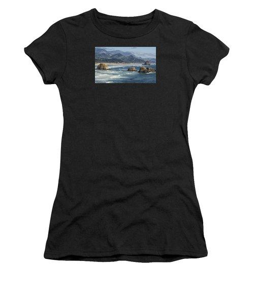 Cannon Beach 0192 Women's T-Shirt (Athletic Fit)
