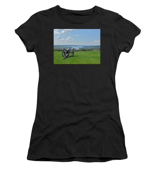 Cannons Ready Women's T-Shirt (Athletic Fit)