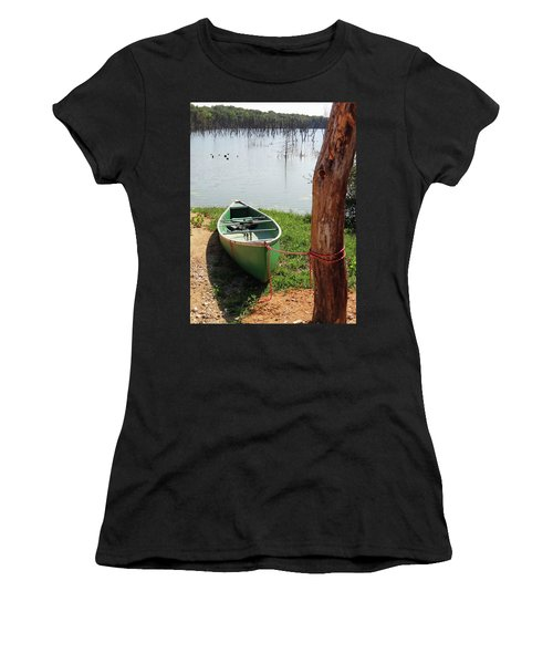 Canoe Women's T-Shirt (Athletic Fit)