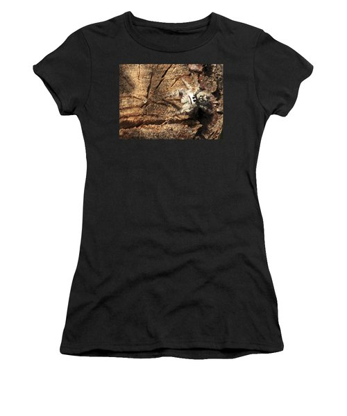 Canopy Jumping Spider Women's T-Shirt (Athletic Fit)
