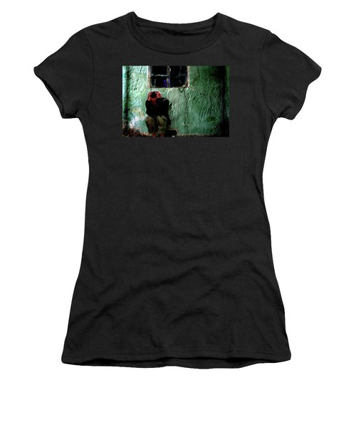 Can't Escape The Madness Women's T-Shirt (Junior Cut) by Gray  Artus