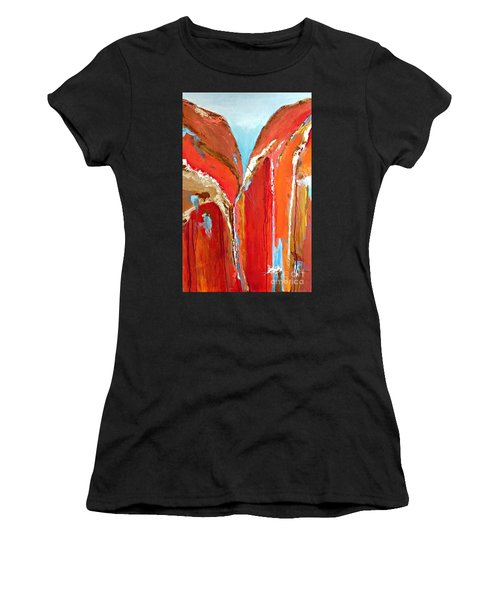 Canyon Reverie Women's T-Shirt (Athletic Fit)
