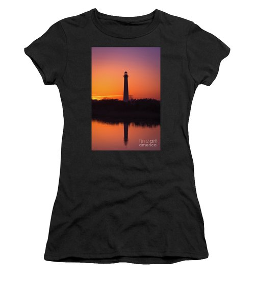 Cape May Lighthouse Reflections Women's T-Shirt