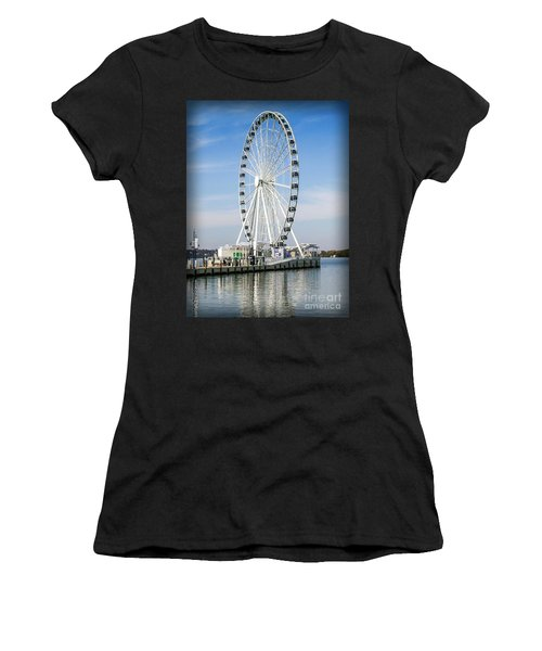 Capital Ferris Wheel Women's T-Shirt