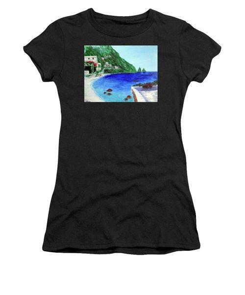 Capri Women's T-Shirt (Athletic Fit)