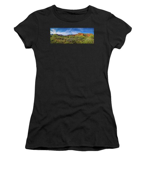Caprock Canyon Panorama 2 Women's T-Shirt (Athletic Fit)