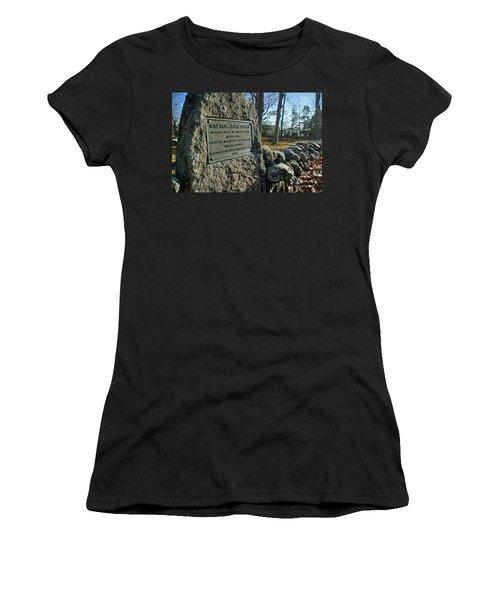 Captain John Locke Monument  Women's T-Shirt
