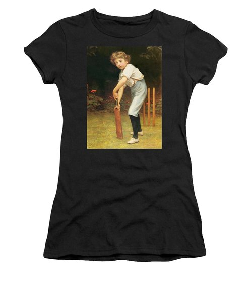 Captain Of The Eleven Women's T-Shirt (Junior Cut) by Philip Hermogenes Calderon