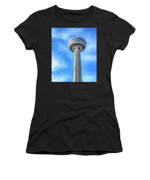 Car On Skylon Tower Women's T-Shirt
