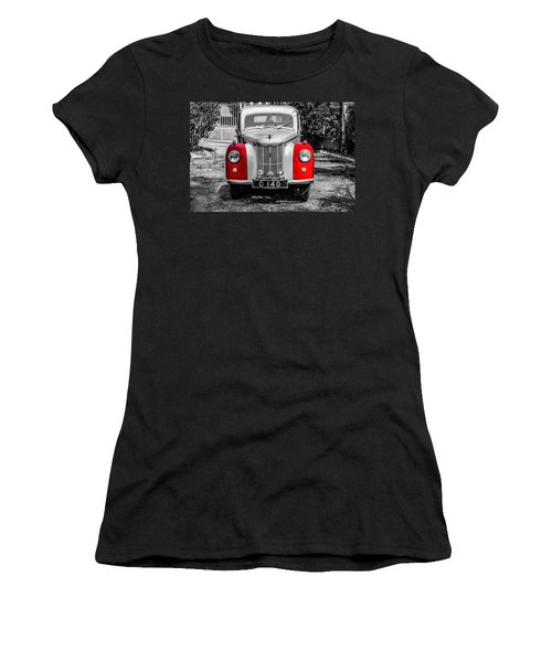 Car Women's T-Shirt (Athletic Fit)