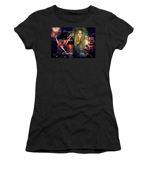 Cara Earth Angels Birthday Women's T-Shirt