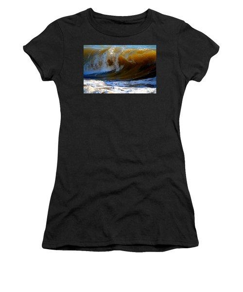 Caramel Swirl Women's T-Shirt (Athletic Fit)