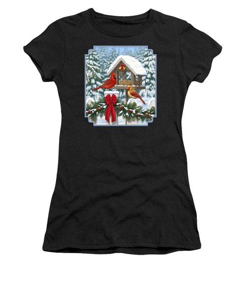 Cardinals Christmas Feast Women's T-Shirt