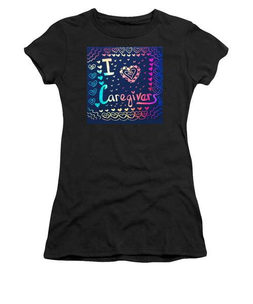 Caregiver Rainbow Women's T-Shirt